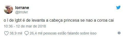 levanta a cabeça princesa