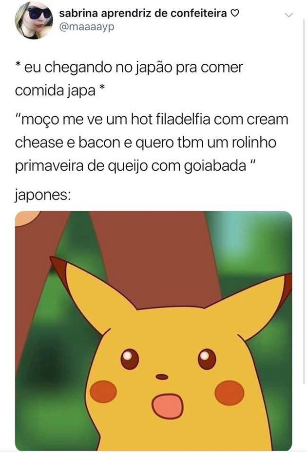 Pikachu surpreso meme