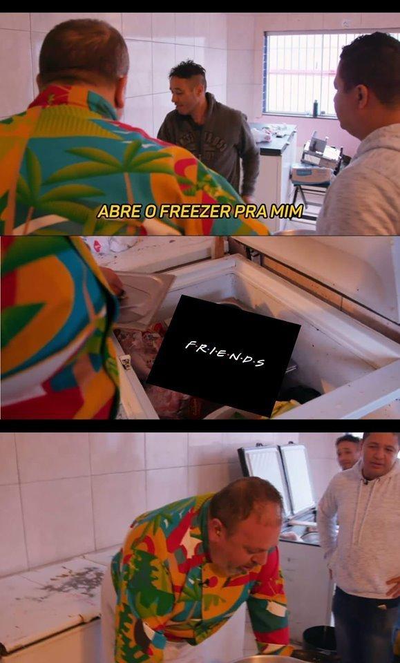 Meme Jacquin e o Freezer