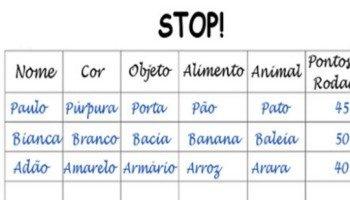 Adedonha: temas e respostas para jogar Stop