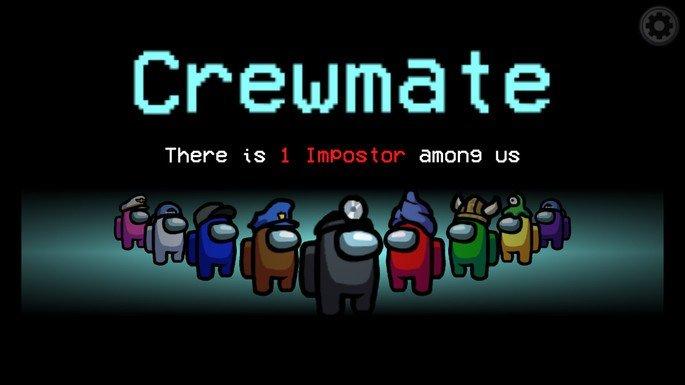 Imagem de divulgação do jogo Among Us
