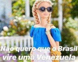 Meme da Barbie fascista