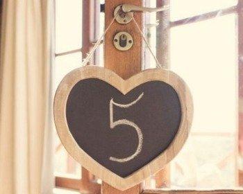 Bodas de Madeira (5 anos de casamento)