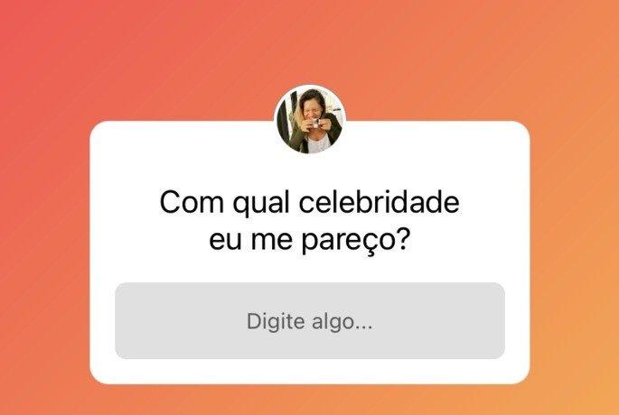 Caixa de perguntas do Instagram