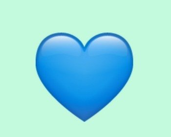 Coração azul 💙: veja o significado do emoji