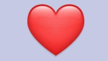 Coração vermelho ❤️: descubra o significado do emoji e como usar