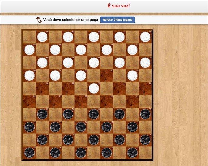 Jogo de damas multiplayer online