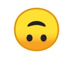 Emoji de Cabeça para Baixo 🙃