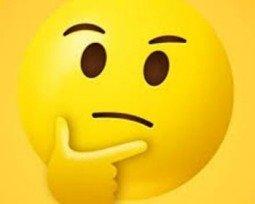 Emoji Pensativo 🤔