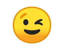 Emojis Piscando 😉