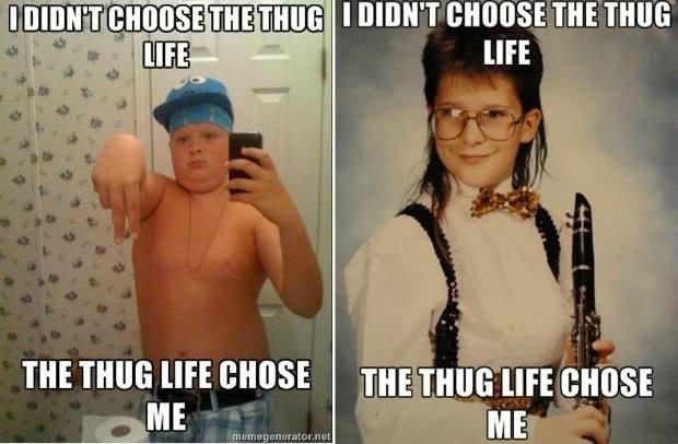 thug life fakes