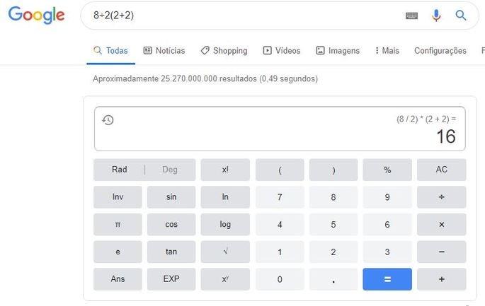 Google calculo viral