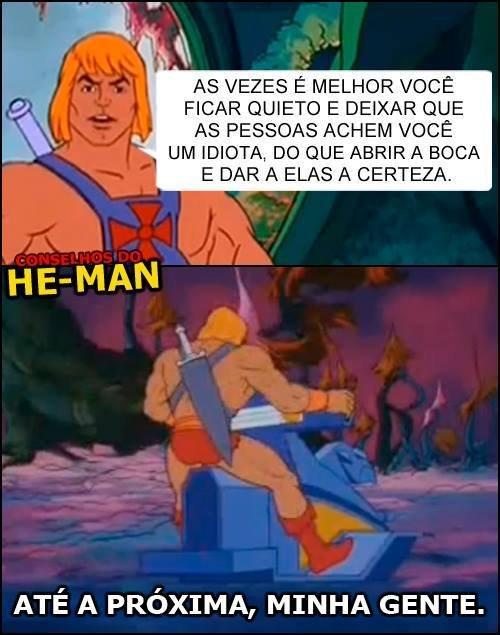 Conselho he-man