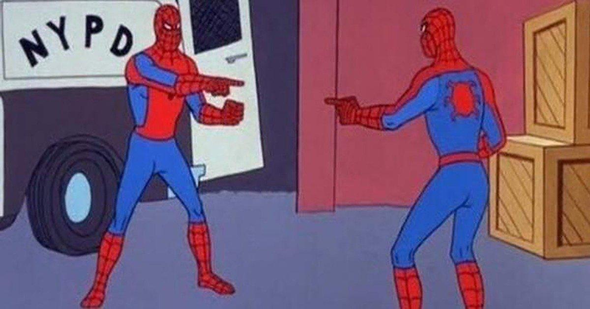 Homem-Aranha apontando para o Homem-Aranha: a origem do meme ...