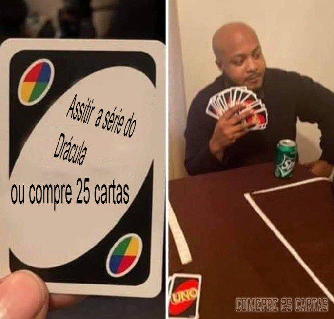 Meme Compre 25 Cartas