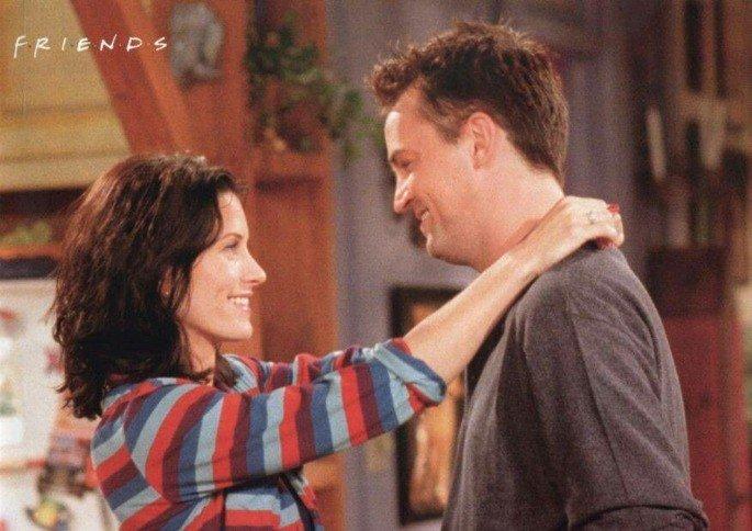 Monica Geller e Chandler Bing