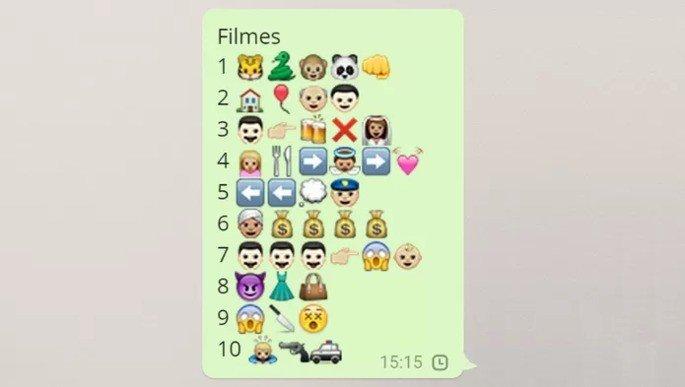 Desafios de emojis para Whatsapp