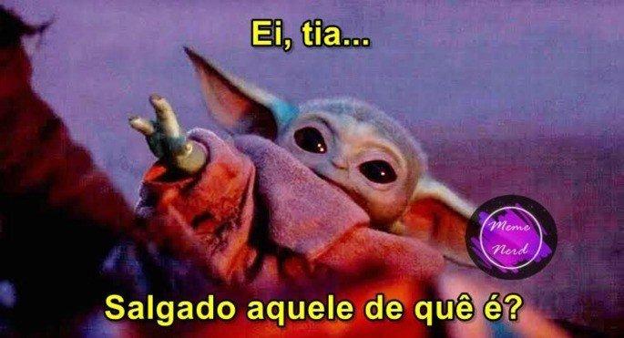 Meme Bebê Yoda