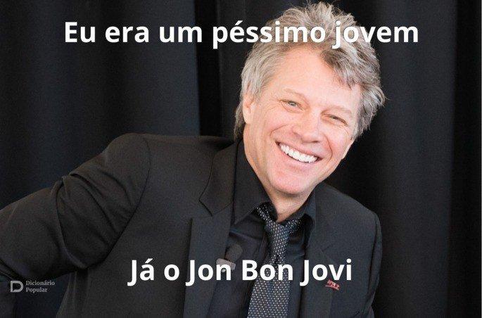 Trocadilhos com o nome do cantor Jon Bon Jovi
