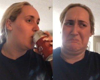 Kombucha girl: o meme da menina bebendo kombucha pela primeira vez