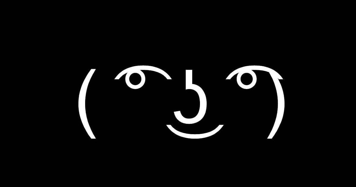 O que é Aquela carinha   Lenny face ( ͡° ͜ʖ ͡°) - Dicionário Popular