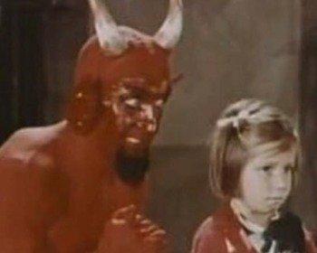 Meme do diabo com a criança ou vai lá
