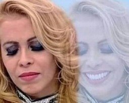 Meme da Joelma triste e feliz