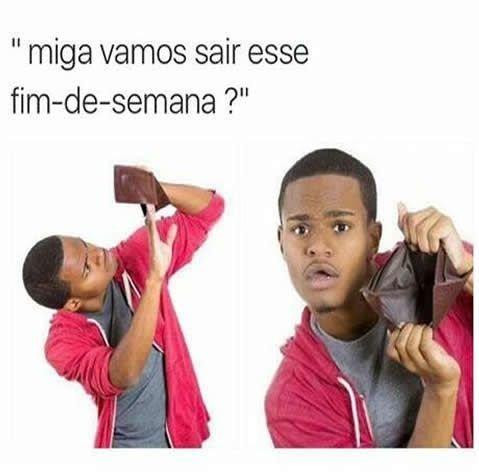 Meme carteira vazia