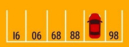 Charada para descobrir o número do estacionamento