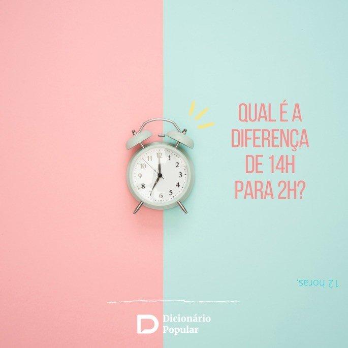 Perguntas de duplo sentido sobre horas