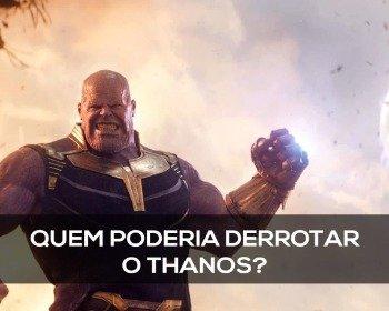 Personagens aleatórios que derrotariam o Thanos
