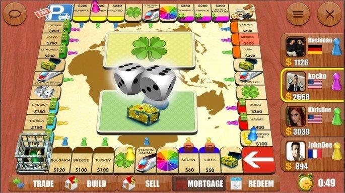 Imagem de divulgação do app Rento Monopoly