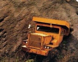 Ser muita areia para o caminhão