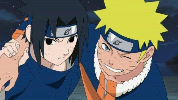 Naruto e Sasuke (Naruto e Naruto Shippuden).