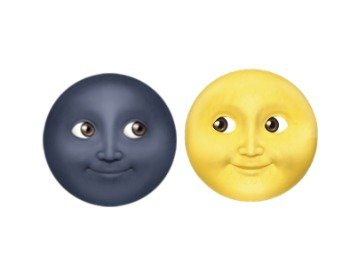 Significado dos emojis de lua do Whatsapp