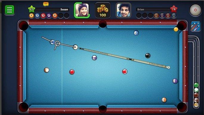 8 Ball Pool jogo de sinuca online para smartphones